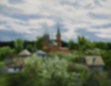 Сергей Дорофеев | после дождя | новинка месяца | купить картину в москве | купить пейзаж | Artmagic | Артмагия | art.vin