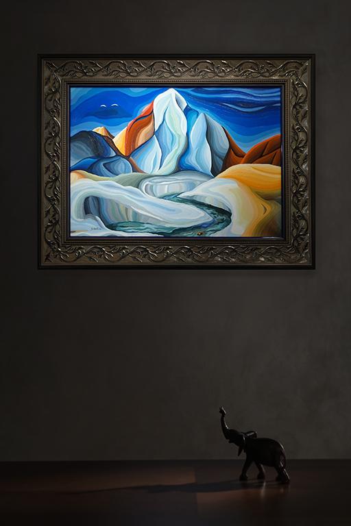 Здесь Вам не равнина |  Василий Сидорин | в интерьере art.vin