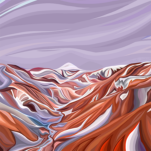 горы Исландии летом | Василий Сидорин | VASILY SIDORIN | sidorin.info | Artmagic