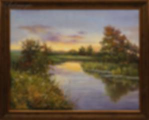У реки | Ирина Поцелуева | купить картину маслом | пейзаж | купить пейзаж | купить картину в москве | Артмагия | Artmagic | artvin