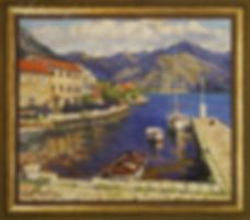 У причала | at berth | Дмитрий Сысоев | Dmitry Sysoev | Landscape | пейзаж | art.vin | Artmagic | Артмагия