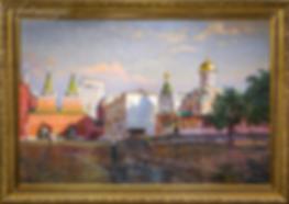 Утро в Москве | Викентий Лукиянов | Городской пейзаж | art.vin | Artmagic | Артмагия