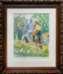 A house for cats | Kurt Ruebner | Городской пейзаж | art.vin | Artmagic | Артмагия