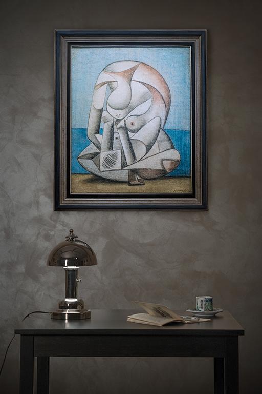 Пабло Пикассо | Женщина | в интерьере | Pablo Picasso | Woman | interior | artmagic