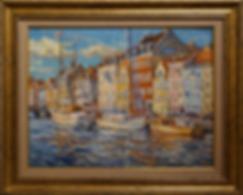 Копенгаген после дождя | Антон Колоколов | пейзаж | работы художника | кпить картину в Москве | Artmagic | Артмгия | artvin