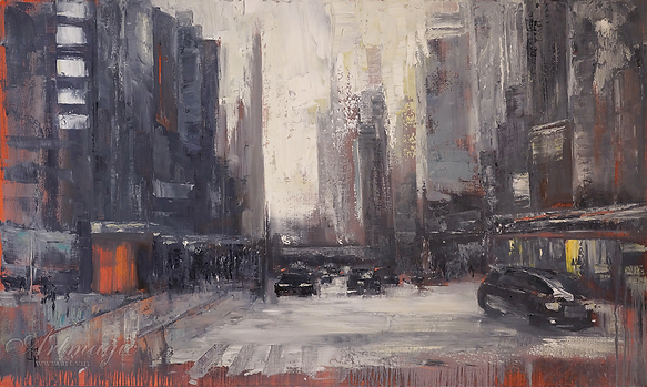 Серый шум | Ирина Сергеева | Абстракция | art.vin | Artmagic | Артмагия