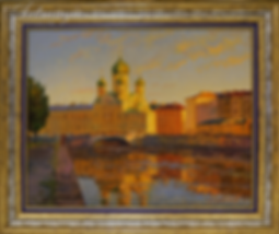 Церковь Николая Чудотворца | Викентий Лукиянов | Городской пейзаж | art.vin | Artmagic | Артмагия