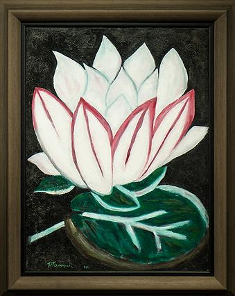 лилия | наталья гончарова | авангардизм в живописи | Артмагия | пейзаж | купить картину в москве | купить картину | art | art gallery | artvin | Artmagic