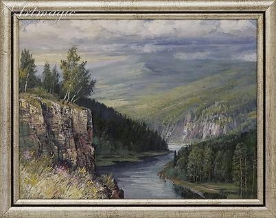 Уральская | река | Алексей Петриков | Alex Petrikov | Landscape | пейзаж | природа | art.vin | Artmagic | Артмагия