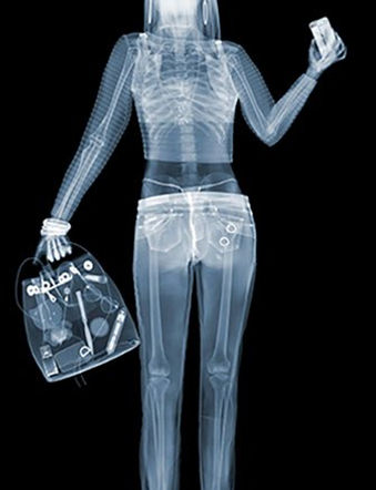Девушка | Girl | Ник Визи | Nick Veasey| рентген | art.vin | Artmagic | Артмагия