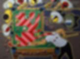 Бильярд  | Юрий Сизоненко | Yuriy Sizonenko | необычные картины | современное искусство | купить картину в Москве | Артмагия | Artmagic | artvin
