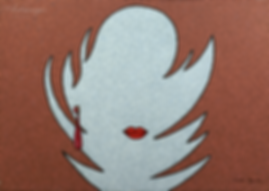 Остров любви   женщина    Юрий Сизоненко   Yuriy Sizonenko   необычные картины   современное искусство   купить картину в Москве   Артмагия   Artmagic   artvin