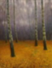 золотой ковёр  | купить пейзаж | Федор Парфенов | купить картину в Москве | купить пейзаж | галерея Москвы | Артмагия | Artmagic | artvin