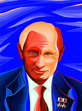 Дважды герой | Putin | Twice hero | Василий Сидорин | Vasily Sidorin | Humor | юмор | art.vin | Artmagic | Артмагия