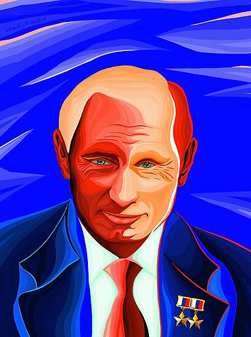 дважды герой | путин | Putin  | Василий Сидорин | VASILY SIDORIN | sidorin.info | Artmagic