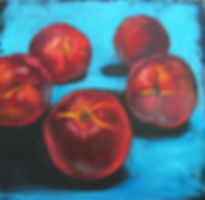 нектарины  | фрукты | Ирина Сергеева | Irina Sergeeva | Still life | Натюрморт | art.vin | Artmagic | Артмагия