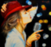 Микрофон    ТИМУР Юмадилов   Timur Umadilov   Landscape   абстракция   art.vin   Artmagic   Артмагия