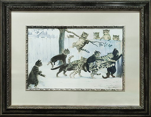 В игре | Louis Wain | Cat | Котики | art.vin | Artmagic | Артмагия