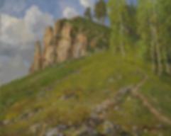 Утёс | картина с пейзажем | Алексей Петриков | Alex Petrikov | Landscape | пейзаж | природа | art.vin | Artmagic | Артмагия