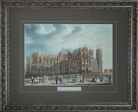 Westminster Abbey | Thomas Shepherd | Городской пейзаж | art.vin | Artmagic | Артмагия
