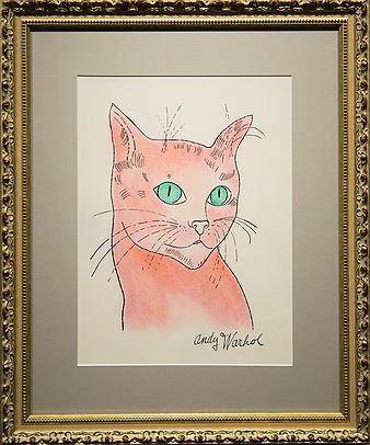 кот Сэм | Энди Уорхол | Cat Sem | Andy Warhol | Артмагия | пейзаж | купить картину в москве | купить картину | art | art gallery | artvin | Artmagic