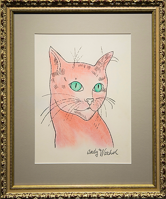 Кот Сэм | Andy Warhol | Cat | Котики | art.vin | Artmagic | Артмагия