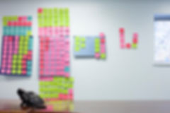 post-it notes, homeless shelter office, staff office, dry erase board, Choreograping Care, secondary trauma