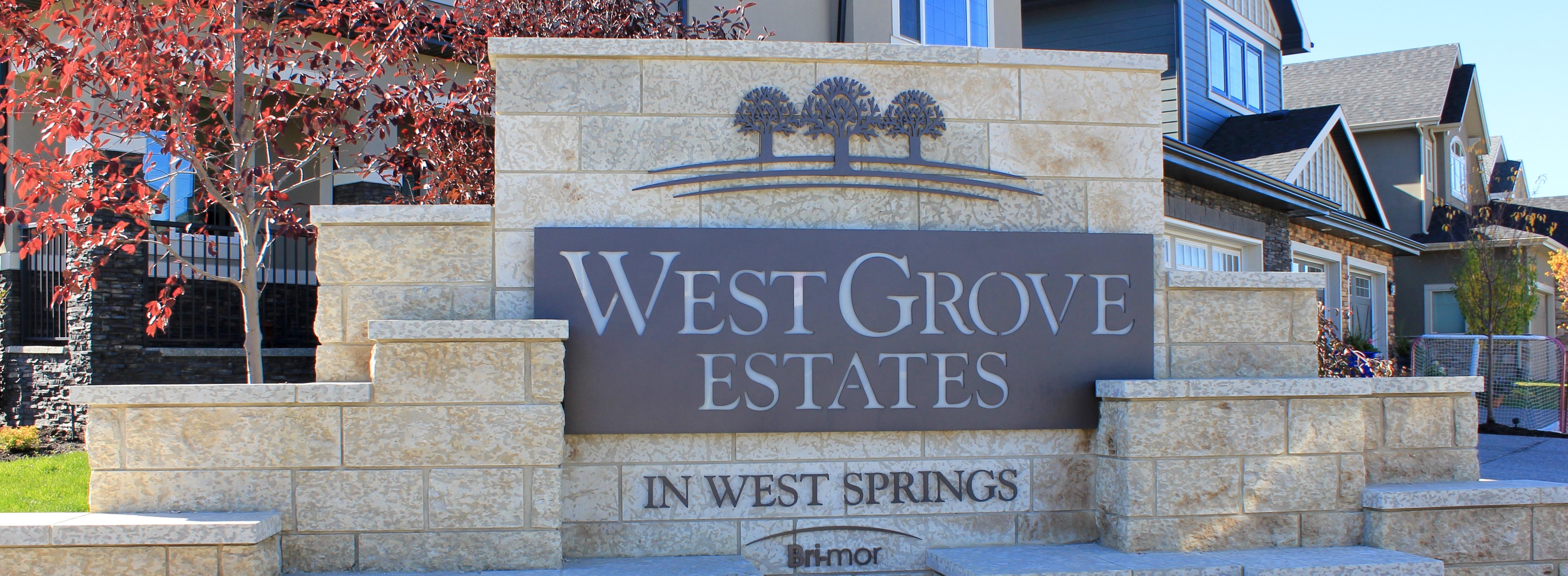 West Grove Estates Calgary
