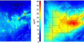 Modeled aerosol nitrate formation pathways during wintertime in the Great Lakes region of NA