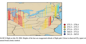 Analysis of Anthropogenic CO2 Signal in ICARTT Observations Using a Regional Chemical Transport...