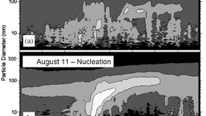 Ambient Aerosol Size Distributions and Particle Number Concentrations Measured during the...