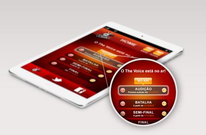 The Voice Brasil 2012 App
