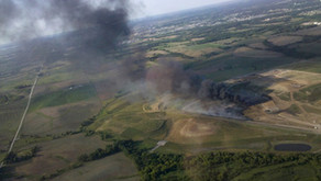 Uncontrolled combustion of shredded tires in a landfill ‐ Part 2: Population Exposure, Public...