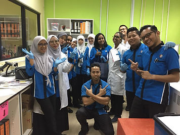 The clinical laboratory scientists! Pict