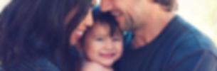 happy family, smiling baby, postpartum