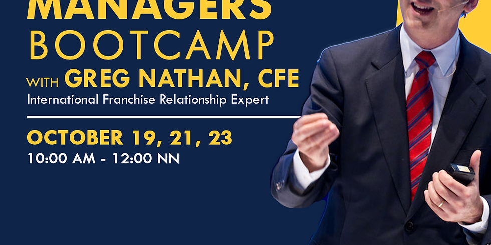 Field Manager Bootcamp with Greg Nathan