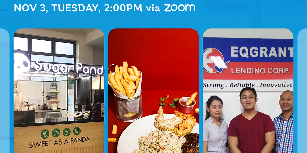 Free Webinar: Franchise Discovery Day with Pepa Wings, Sugar Panda, and EQ Grant Lending