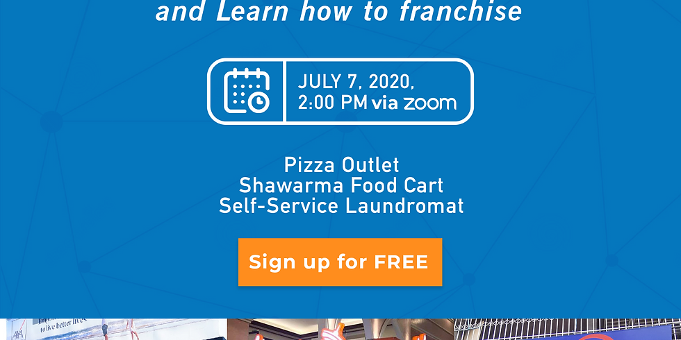 Franchise Discovery Day with Khaleb Shawarma, Angel's Pizza, and Save5 Laundromat