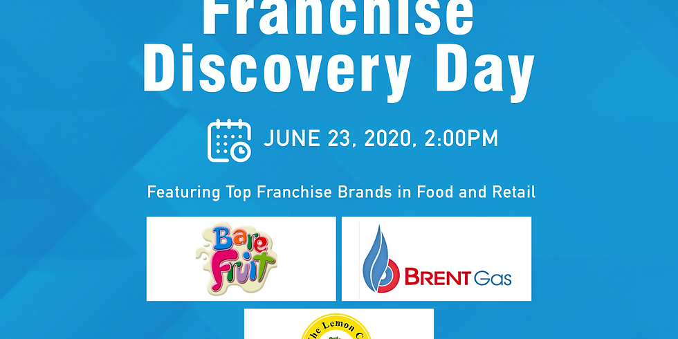 Webinar: Franchise Discovery Day with BareFruit, Brent Gas LPG, and The Lemon Co