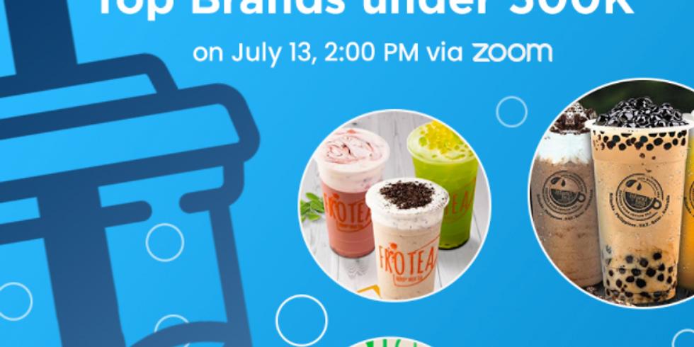 Milk Tea Festival: Top Brands under 500k - Frotea, Sugar Panda, Island Tea, Moonleaf