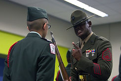 JROTC Inspection Drill Instructor