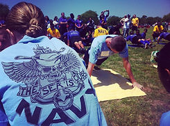 Navy PT Competition