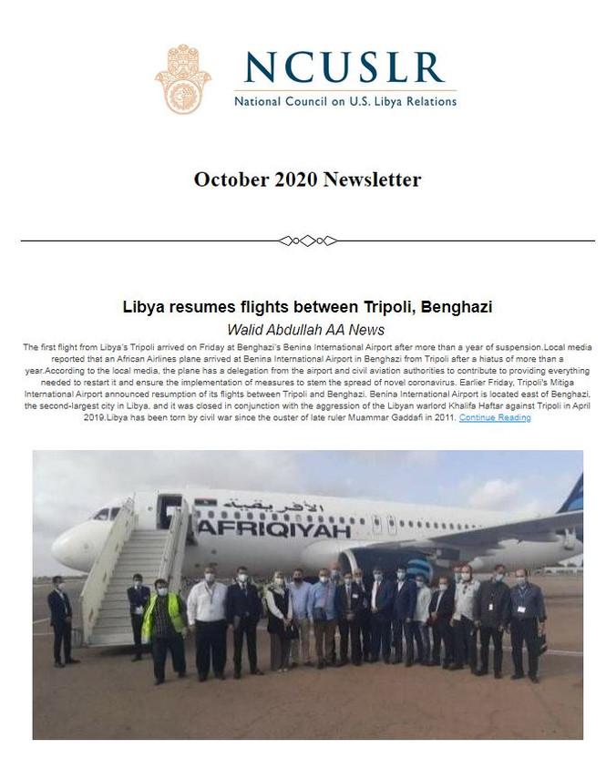NCUSLR October Newsletter