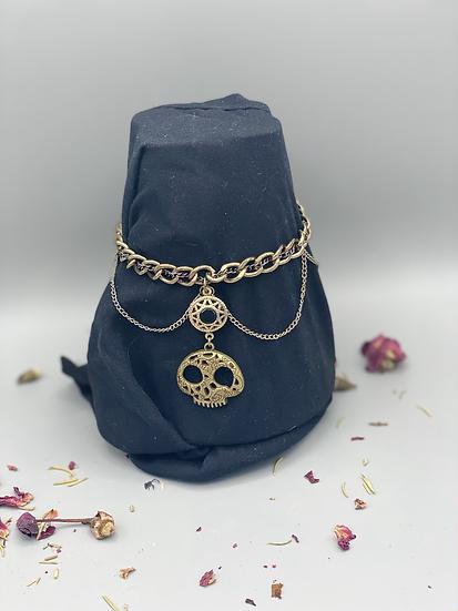 Skull themed bracelet