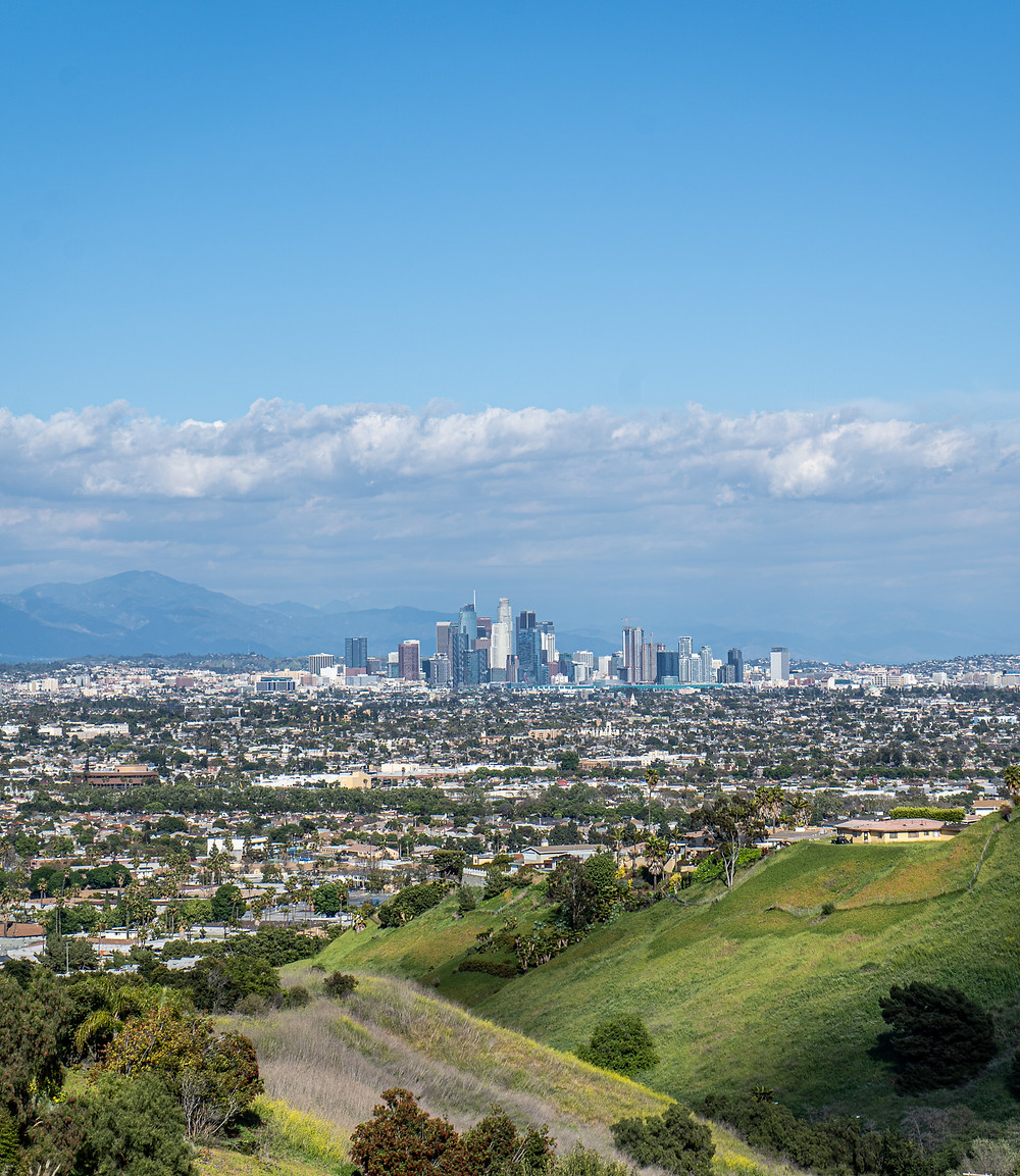 view from kenneth hahn park