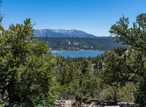 Cougar Crest Trail, Big Bear CA
