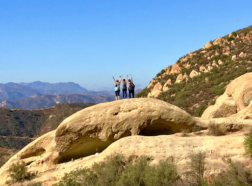 Red Rock Canyon to Calabasas Peak Hike