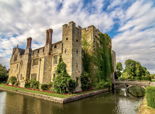Visiting Hever Castle in Kent, England