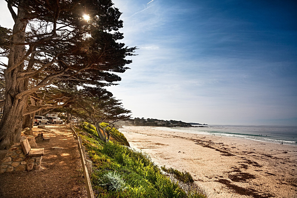 carmel by the sea coastal view