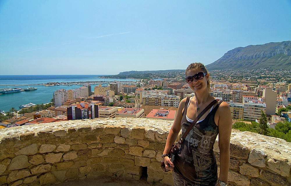 Denia spain coastal view